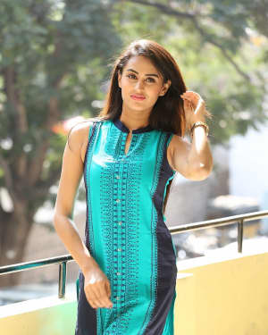 Anika Rao - Swayamvada Movie First Look Launch Photos