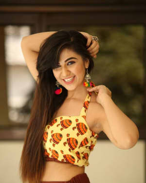Actress Harshitha Panwar Photos during Bewars Fiilm Promotion   Picture 1602807