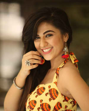 Actress Harshitha Panwar Photos during Bewars Fiilm Promotion   Picture 1602805