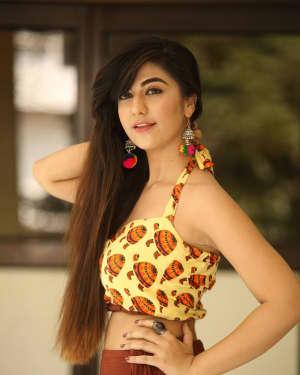 Actress Harshitha Panwar Photos during Bewars Fiilm Promotion   Picture 1602802