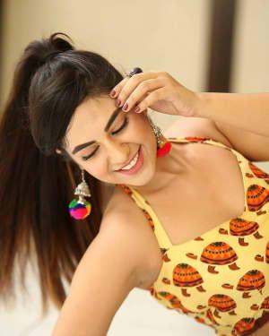 Actress Harshitha Panwar Photos during Bewars Fiilm Promotion   Picture 1602785