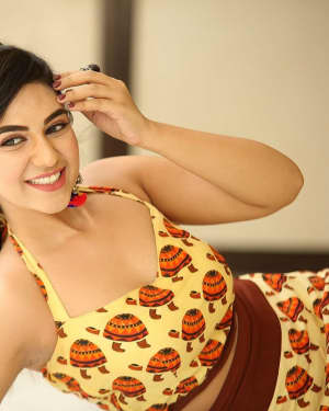 Actress Harshitha Panwar Photos during Bewars Fiilm Promotion   Picture 1602787