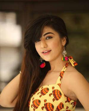 Actress Harshitha Panwar Photos during Bewars Fiilm Promotion   Picture 1602803