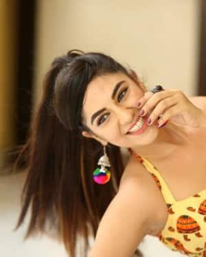 Actress Harshitha Panwar Photos during Bewars Fiilm Promotion   Picture 1602786