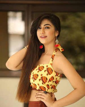 Actress Harshitha Panwar Photos during Bewars Fiilm Promotion   Picture 1602804