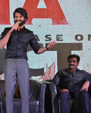 Photos: NOTA Tamil and Telugu Bilingual Film Promotions at Bangalore | Picture 1602836
