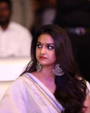 Keerthi Suresh - Pandem Kodi 2 Movie Audio Launch Photos