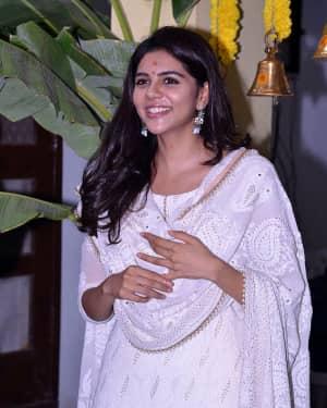 Kalyani Priyadarshan - Chitralahari Movie Launch Photos