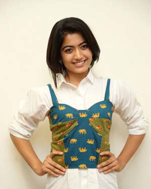 Rashmika Mandanna - Devadas Telugu Film Success Meet Photos | Picture 1606799