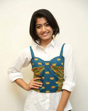 Rashmika Mandanna - Devadas Telugu Film Success Meet Photos | Picture 1606812