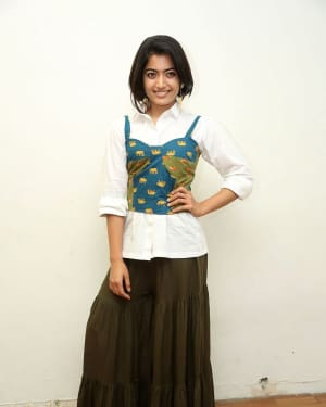 Rashmika Mandanna - Devadas Telugu Film Success Meet Photos | Picture 1606810