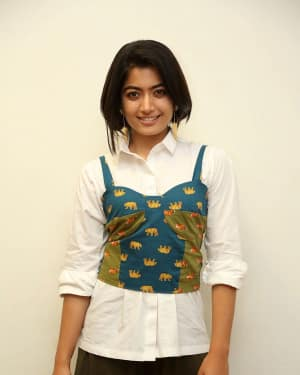 Rashmika Mandanna - Devadas Telugu Film Success Meet Photos | Picture 1606807