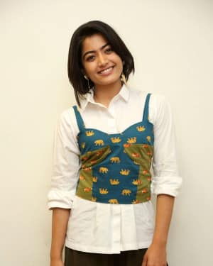 Rashmika Mandanna - Devadas Telugu Film Success Meet Photos | Picture 1606805