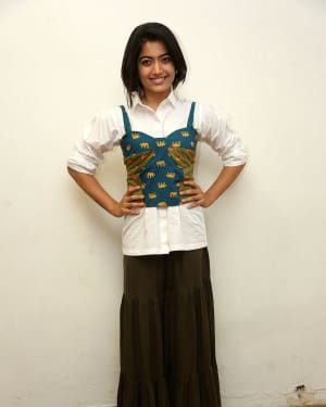 Rashmika Mandanna - Devadas Telugu Film Success Meet Photos | Picture 1606797