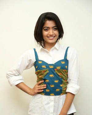 Rashmika Mandanna - Devadas Telugu Film Success Meet Photos | Picture 1606813