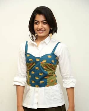 Rashmika Mandanna - Devadas Telugu Film Success Meet Photos | Picture 1606808