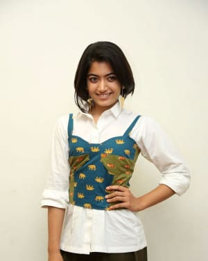 Rashmika Mandanna - Devadas Telugu Film Success Meet Photos | Picture 1606811