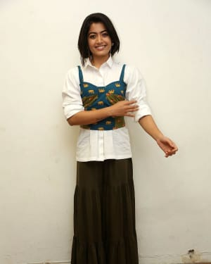 Rashmika Mandanna - Devadas Telugu Film Success Meet Photos | Picture 1606796