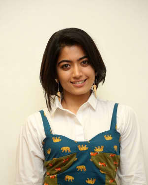 Rashmika Mandanna - Devadas Telugu Film Success Meet Photos | Picture 1606806