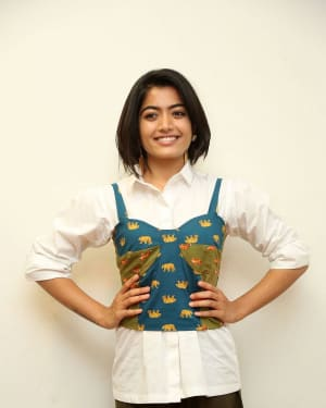 Rashmika Mandanna - Devadas Telugu Film Success Meet Photos | Picture 1606803