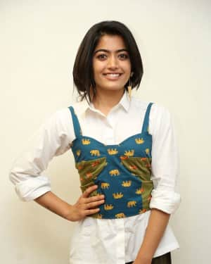 Rashmika Mandanna - Devadas Telugu Film Success Meet Photos | Picture 1606814