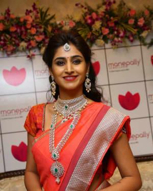 Varshini Sounderajan - Manepally Jewellers 128 Year Celebrations And Utsavi Collections Launch Photos