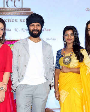 Vijay Devarakonda - Kranthi Madhav Movie Launch Photos