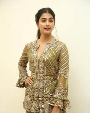 Pooja Hegde - Aravinda Sametha Movie Success Meet Photos