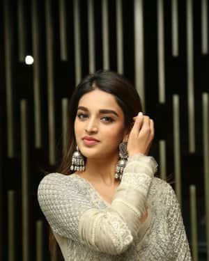 Nidhhi Agerwal - Savyasachi Movie Pre Release Event Photos   Picture 1608988