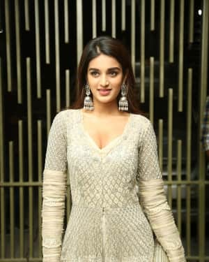 Nidhhi Agerwal - Savyasachi Movie Pre Release Event Photos   Picture 1608998