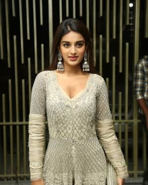 Nidhhi Agerwal - Savyasachi Movie Pre Release Event Photos   Picture 1608997