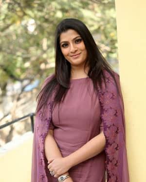 Varalaxmi Sarathkumar Photos at Sarkar Film Interview