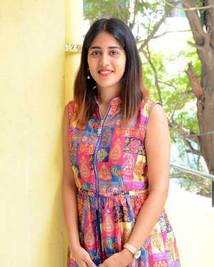 Chandini Chowdary Photos at Manu Movie Interview