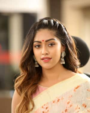 Anu Emmanuel Photos at Sailaja Reddy Alludu Interview