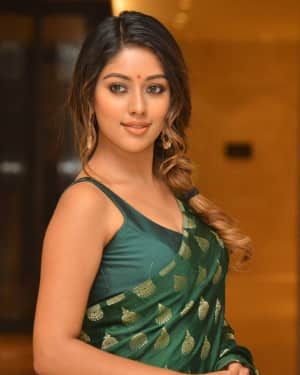 Anu Emmanuel Photos at Shailaja Reddy Alludu Movie Success Meet
