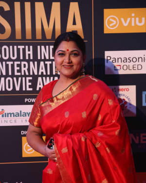 Kushboo Sundar - Photos: SIIMA Awards 2018 Red Carpet - Day 2