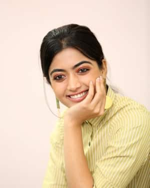 Rashmika Mandanna Photos at Devadas Film Interview