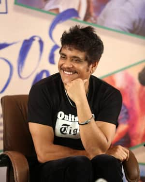 Nagarjuna Akkineni - Devadas Telugu Film Pre Release Press Meet Photos