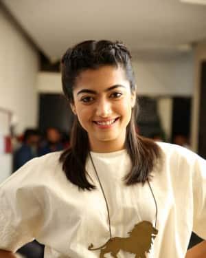 Rashmika Mandanna - Devadas Telugu Film Pre Release Press Meet Photos