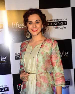 Taapsee Pannu - Photos: Announcement Of New Brand Ambassador For Melange by Lifestyle