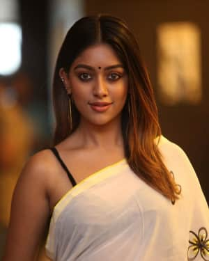 Anu Emmanuel Photos during Promotional Event