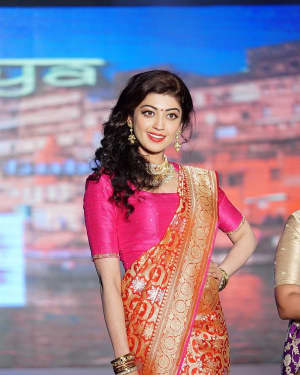 Pranitha - Celebs at Maggam Telangana Vastra Show at N Convention Photos