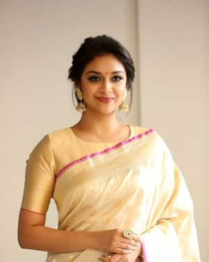 Keerthi Suresh - Pandem Kodi 2 Move Trailer Launch Photos