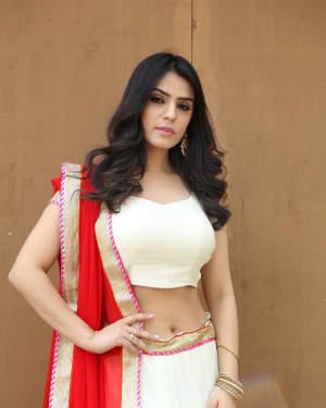 Sidhika Sharma - Prema Paracham Movie Opening Photos