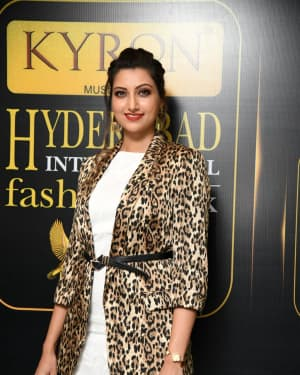 Hamsa Nandini - Kyron Hyderabad International Fashion Week 6th Edition Logo Launch Photos | Picture 1629831