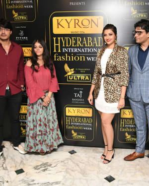 Kyron Hyderabad International Fashion Week 6th Edition Logo Launch Photos | Picture 1629833