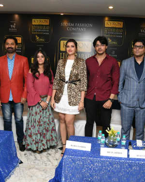 Kyron Hyderabad International Fashion Week 6th Edition Logo Launch Photos | Picture 1629840