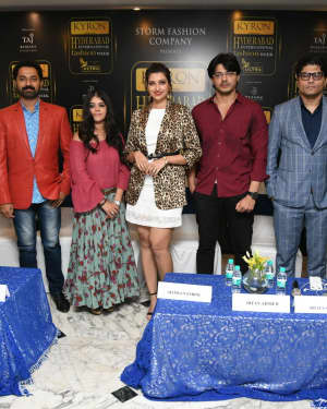Kyron Hyderabad International Fashion Week 6th Edition Logo Launch Photos | Picture 1629838