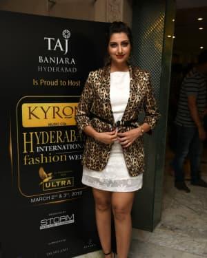 Hamsa Nandini - Kyron Hyderabad International Fashion Week 6th Edition Logo Launch Photos | Picture 1629827