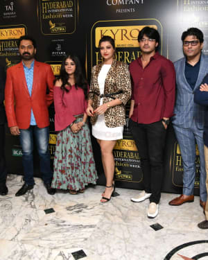 Kyron Hyderabad International Fashion Week 6th Edition Logo Launch Photos | Picture 1629834